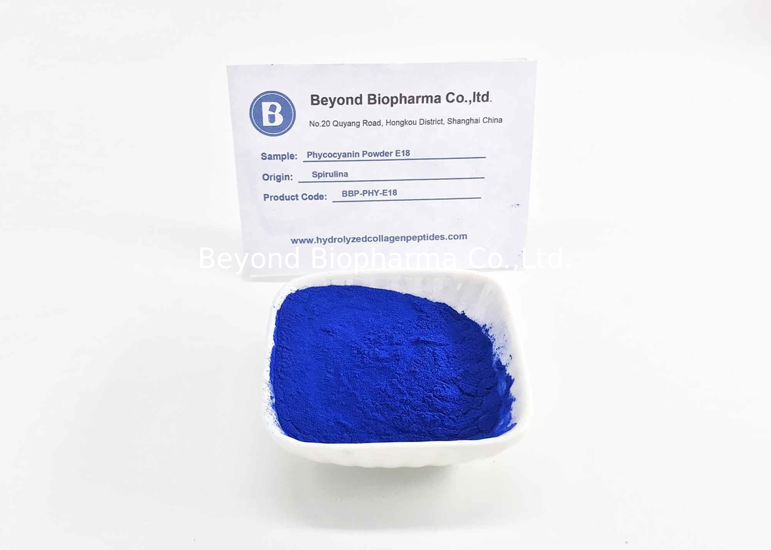 Cosmetic Grade Phycocyanin Powder As Blue Coloring Additive For Cosmetic Products
