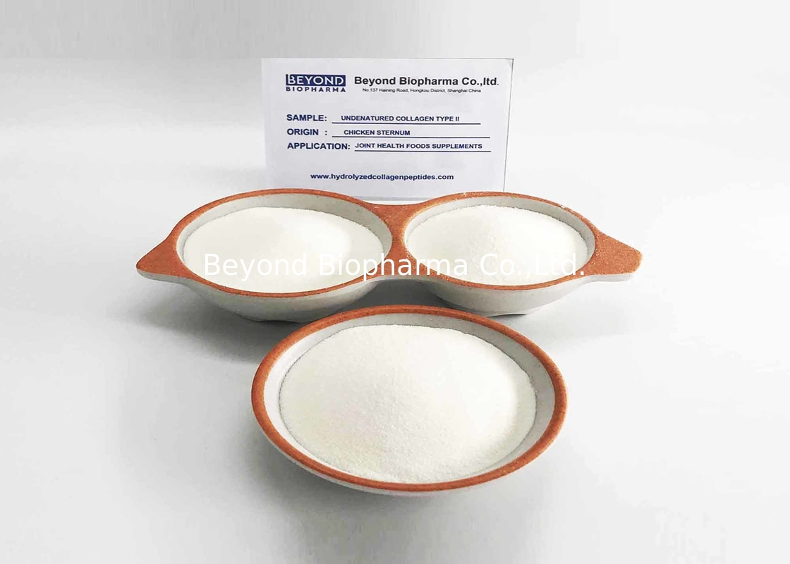 Custom Type Ii Chicken Collagen / Chicken Sternum Collagen Type 2 Powder