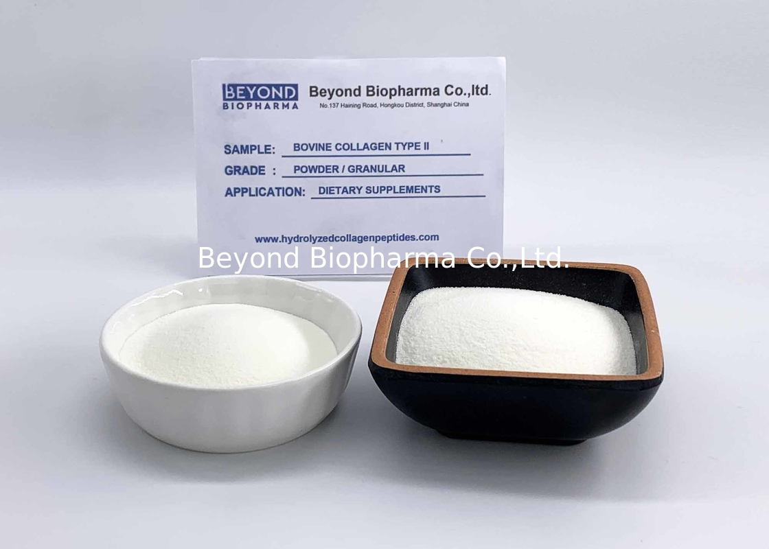 Granulated Bovine Type ii Collagen Powder For Enhances Bone Toughness